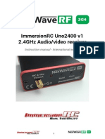 Uno2400V1Receivermanual En