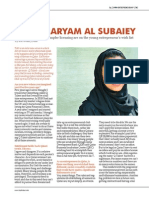 Maryam Al Subaiey Interview