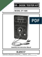 Probador de TransistoresDT-101k