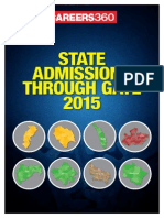 State M.tech Admissions Through GATE