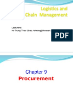 Logistics Chap 09 Procurement HSJ14