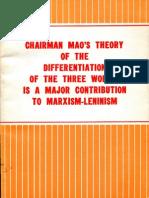 ChairmanMao'sTheoryOfTheThreeWorlds-1977