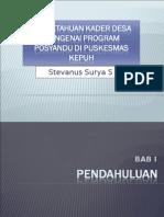 Stevan - mini project STEVAN.ppt