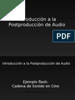 Intro a Post de Sonido 2014