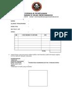 formulir pemesanan merch SID