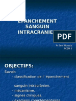 Epanchement Sanguin Intracranien Pcem3