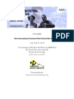 Program Rio de Janeiro Uranium Film Festival July 2015