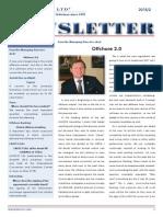 Offshore 2.0 - LAVECO Newsletter 2015/2.