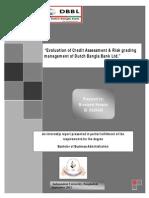 CRG procedure of DBBL