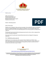 150629 King's Letter to Gov Ige re