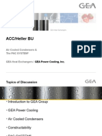 Acc GEA Information