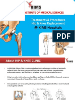 Hip  Knee Replacement Surgery Procedure @ KIMS Hospitals