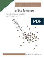 Rimsky Korsakov Dance of the Tumblers Orchestra Instrumental Parts Sample (3)