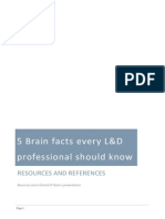 5 Brain Facts Every Ld Professional Should Know