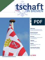 Wirtschaft in Bremen 04/2015 - Bremen wählt
