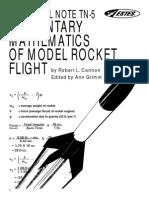 Elem_Math of Model Rocket Flight