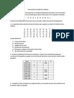Ejercicios de Estadística General