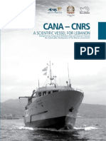 CANA - CNRS, A scientific vessel for Lebanon