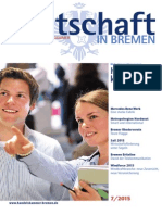 Wirtschaft in Bremen 07/2015 - Mehr Innovation wagen