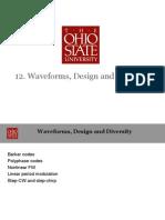 12. Waveforms, Design and Diversity_2014