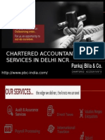 Chartered Accountant Services in Delhi NCR