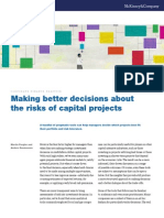 Making Better Decisions About the Risks of Capital Projects