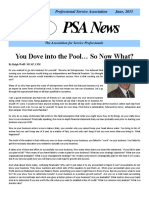 PSA News June 2015 Newsletter