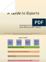 Guide to Exports