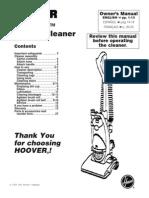 Hoover Nano Lite Vacuum u244090