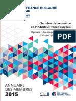Annuaire Des Membres 2015 01