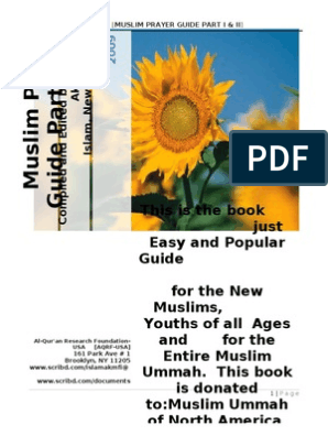 Muslim Prayer Guide Part I and II | Muhammad | Prophets And