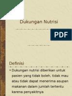 Dukungan Nutrisi