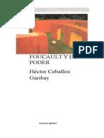 Ceballos Hector - Foucault Y El Poder