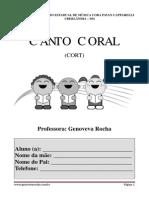 Apostila Canto coral