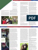 Beneficios de los animales de compañía en niños con autismo