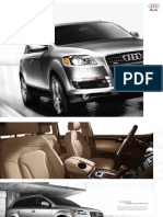 Audi Q7 2009 Misc Documents-Brochure