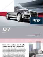 Audi Q7 2012 Misc Documents-Brochure