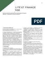 Comptabilité Et Finances d'Entreprises