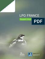 LPO - Rapport d'activité 2014