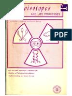 Radioisotopes and Life Processes , Renato Baserga; Walter E. Kisieleski