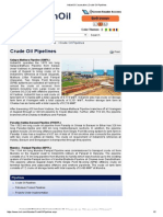 IndianOil Corporation _ Crude Oil Pipelines