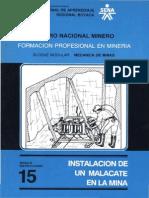 Mecanica de Minas m15 - IPOLEAS
