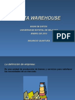 Que Es Un Data Warehouse