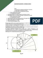 Formule Per Il Calcolo Degli Elementi Geometrici - Dentature Esterne