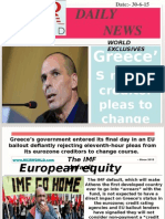 Greece Rejects Creditor Pleas to Change Course