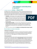 Employee and User Ownership Briefing Paper