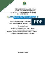 Inventario de Conceitos - PDC - UFG