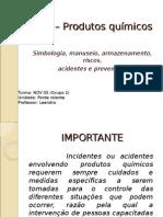 DDS – Produtos Químicos Power Point 2003