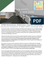 HYSB 2015 Newsletter