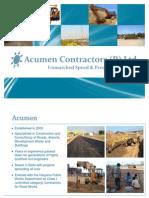 Acumen Contractors Profile